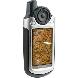Garmin Colorado 400t Handheld GPS Unit with U.S. Topographic Preloaded Maps