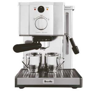 how to clean my breville espresso machine